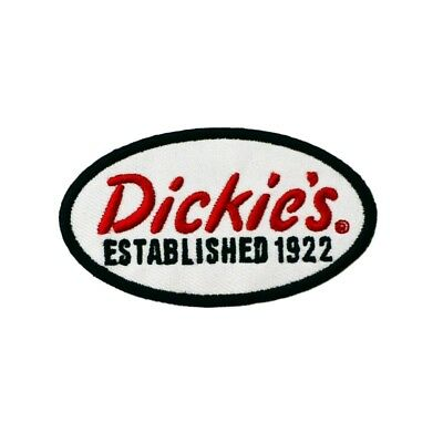 """Dickies - Est 1922 3"""" Iron On Patch"""