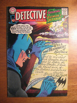 Detective Comics #366 1967 (Fn) Batman