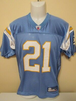 NFL San Diego/LA Chargers #21 YOUTH LGE Printed Gridiron Jersey by Reebok