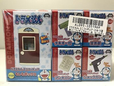 US Seller Doraemon Tool Mini Figures Set of 5