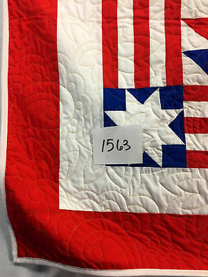 Patriotic Young Man's Fancy FINISHED QUILT This beautiful quilt will be Loved