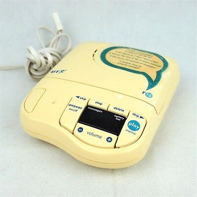 BT Response 15 Answer Machine Phone Telephone Personal Message Recorder Receiver