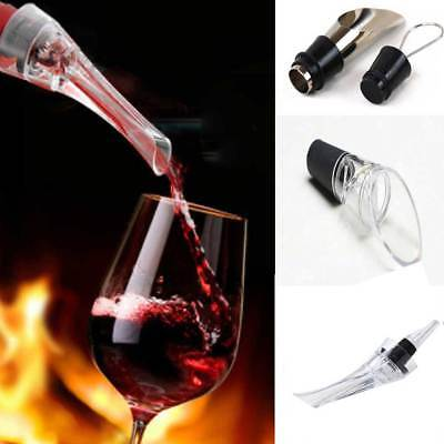 Wine Bottle Aerator Spout Aerating Decanter Pourer New 3 Style