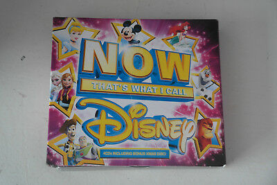 CD Album Now That's What I Call Disney 4 CD Digipak 89 Tracks