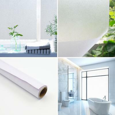 1Roll Environmental Frosted Privacy Bathroom Window Film Sticker Self-adhesive P