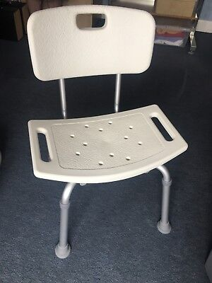 Shower Seat With Backrest Lightweight