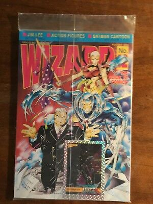 Wizard The Guide to Comics No 12 August 1992 FACTORY SEALED