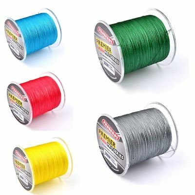 UK 15-35LB 300m 100%PE Spectra Super Strong Power Extreme Sea Braid Fishing Line