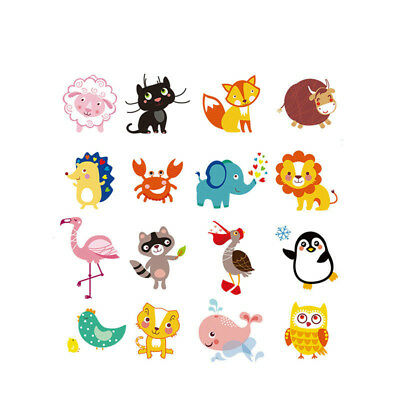 1pc Animal Patches Iron on Transfers DIY Accessory Decoration Print on T-shirt