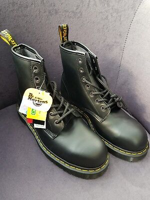 MENS DR MARTENS BLACK SAFETY WORK STEEL TOE CAP ICON 7B10 BOOTS SIZE UK  size 9 42f22a24cb1c