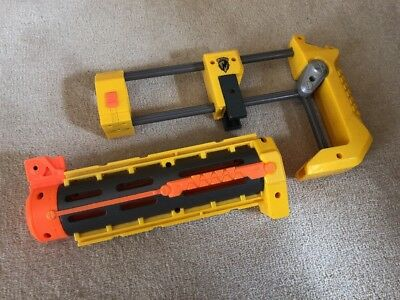 Nerf N Strike Stock And Barrel Yellow Attachments For Nerf Recon