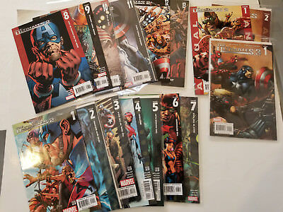 The Ultimates 2 COMPLETE SET #1-13 Plus Ultimates 3 #1 Mark Millar Bryan Hitch