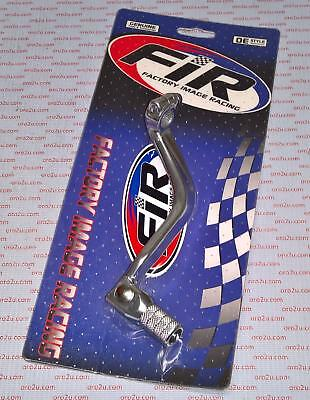 FACTORY RACING Gear Lever pedal ALLOY POLISHED SILVER SUZUKI RM250 1994 - 2008