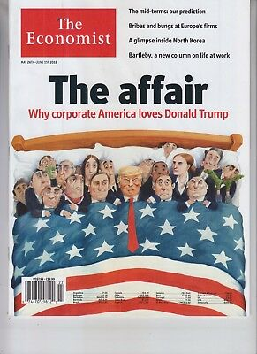 Donald Trump The Economist Magazine May 26 2018 No Label