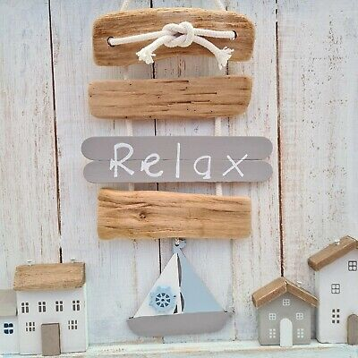 DRIFTWOOD BATHROOM REMOVE NO SHOES PLEASE NAUTICAL THEME BOAT PLAQUE SIGN.