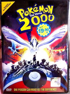 (English Version) ~ Pokemon: The Movie 2000 + Special Feature (Movie 2) ~ DVD ~