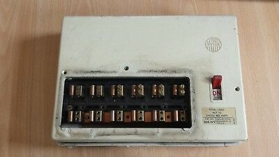 vintage wylex fuse box 604 ivy for spares repairs 10 00 rh picclick co uk