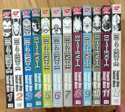 Death Note Manga vol 1 - 12 *Great condition*