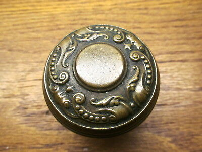 Old Eastlake Brass ? Bronze ?? Door Knob Nice...ornate