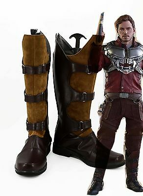 Guardians of the Galaxy Star Lord Peter Jason Quill Cosplay Boots Shoes
