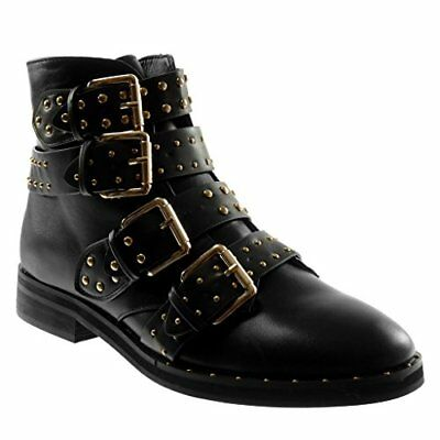 Tronchetto-Bice-Bark, Bottines Femme, Noir (Black), 36 EUGaudì