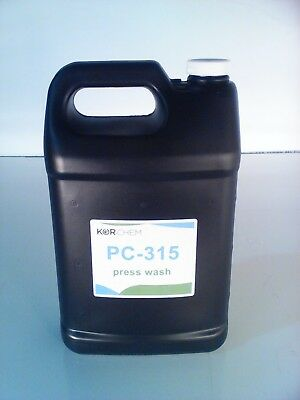 Kor-Chem PC-315  -   Press Wash  -  one gallon bottle