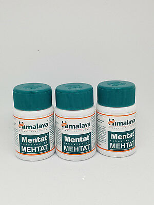 Mentat Himalaya Herbal 3 Jars x 30 ( 90 Tablets ) ** UK SELLER **
