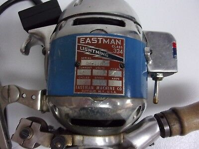 Eastman Fabric Cutter 334 lighting Serial 4H-4101 made in the USA in great shape