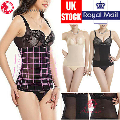 Women Ladies Body Shaper Firm Control Slimming Underwear High Waist Dresses Belt