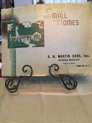 National Plan Service Small Homes Plans 1940's
