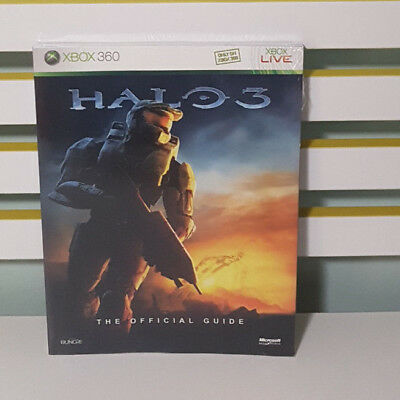 Halo 3 -The Official Game Guide! Book By Microsoft Studios & Bungie! Sealed!