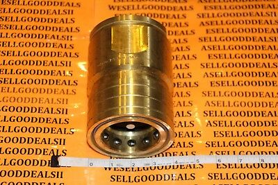 "Parker BH2016-60 Brass Quick Coupler Fitting 2-1/2"" New"