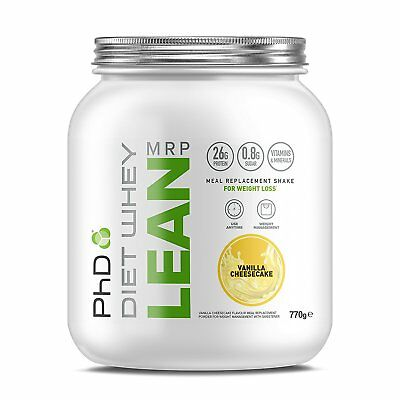 PhD Nutrition Diet Whey Lean Meal Replacement Protein Powder