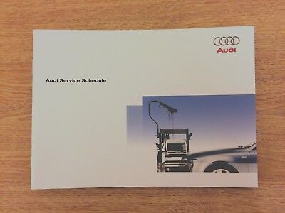 Audi Service Book Genuine Brand New For All Models Petrol And Diesel A5 A7
