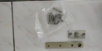 RIXON OR SIMILAR 128-3/4 Satin Chrome Center Hung Pivot Set  US 320D