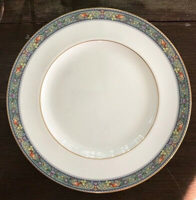 "Royal Doulton Christiana Dinner Plate 10-1/2"" 1995 England Fine Bone China"