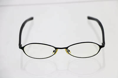 GUCCI Gloss Black Frame Oval Prescription Lens Eye Glasses GG1665/N
