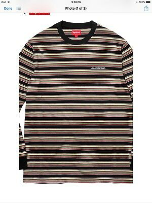 76a3b5447ba7 SUPREME LONG SLEEVE Tee Size Small Brand New 100% authentic - $54.00 ...