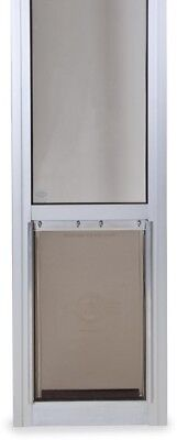 PetSafe 8-1/4 in. x 13-3/16 in. Medium Satin Freedom Patio Panel (76 in. to 81