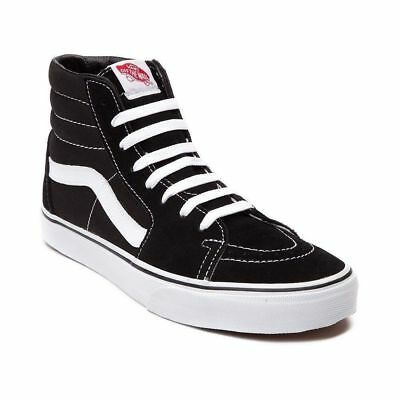 Vans sk8 Hi Skate Scarpeunisex High Top SneakerNero Black/White