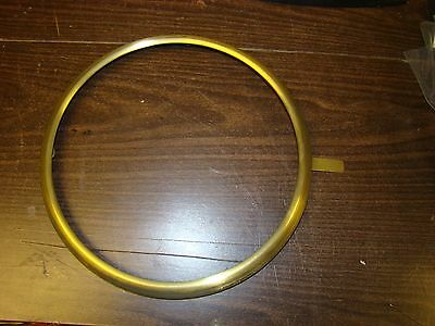 FREE SHIP SIX  Vintage Brass Bezel Ring for Wall Clock  New Old Stock Never used