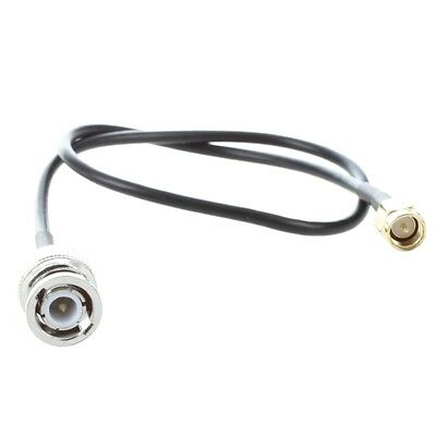 """12.8"""" RF Pigtail Cable SMA Male to BNC Male Adapter Connector E9U8"""