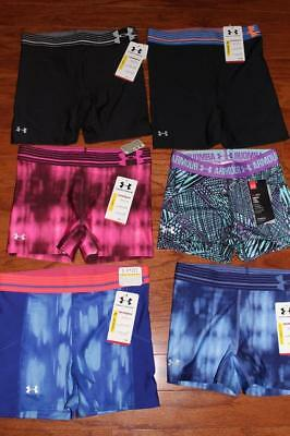 "Under Armour Womens Compression Shorts Shorty 3"" Mid 5"" 1270723 1248577 Xs Nwt"