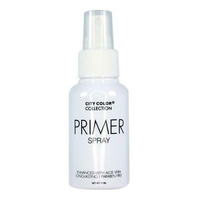 City Color Face Make Up Setting Primer Spray With Aloe Vera Long Lasting W7823