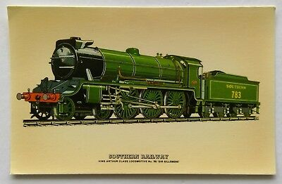 King Arthur Class No.783 Sir Gillmere Prescott Pickup R28 Postcard (P309)
