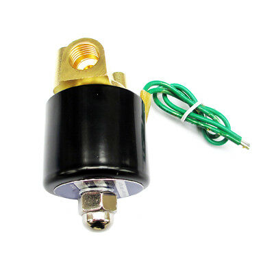 1/4 Solenoid Valve 24v AC Brass Electric Air Water Oils Diesel co2 Normal Closed