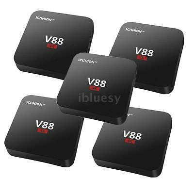 V88 Smart TV BOX Android 7.1 RK322 Quad Core 8GB 4K WIFI HD 1080P H.265 Player