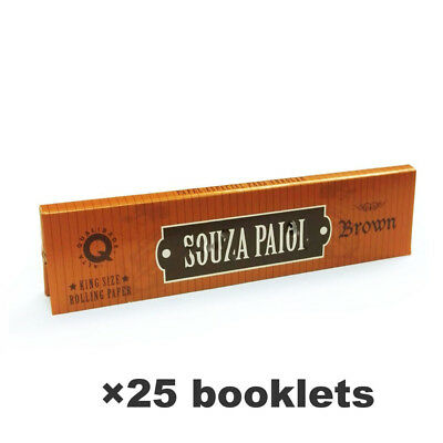 SOU*ZA (RD) Hemp Rolling Papers 108*45mm 25 Booklets=800 leaves smoking