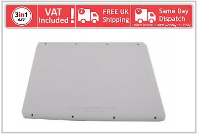 "A1342 Apple Macbook 13"" Unibody Bottom Base Case Rubber Lid Cover Door 2009 2010"