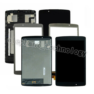For LG G Pad F 8.0 V495 LG-V496 V496 UK495 AK495 LCD Touch Digitizer +Frame AA
